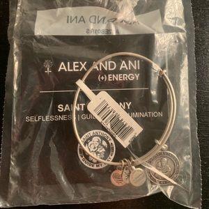 Alex & Ani St. Anthony bracelet